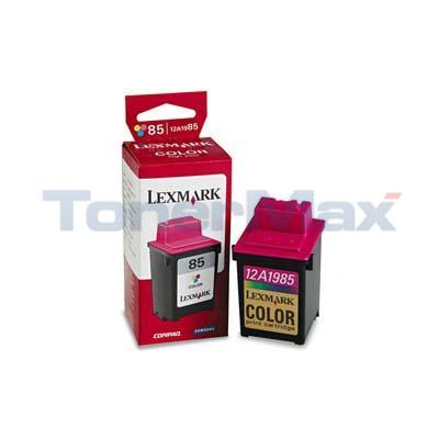 LEXMARK 3200 NO. 85 PRINT CART COLOR